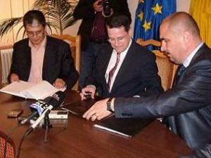 A fost semnat un nou contract de finantare pentru crearea unei infrastructuri de afaceri in Oradea