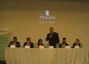 Iulian Basu si Vasile Isan – deschidere Conferinta Finantare.ro Iasi 2012