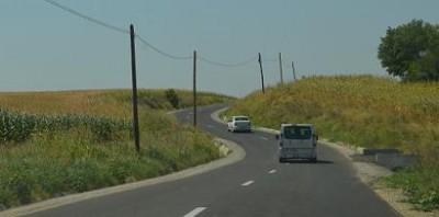 Inca un drum reabilitat si modernizat cu fonduri Regio in judetul Calarasi