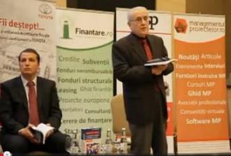 Conferinta Finantare.ro Cluj: Lansarea cartii lui Andrei Radulescu