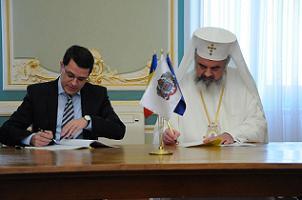 Patriarhia isi renoveaza Palatul cu bani europeni