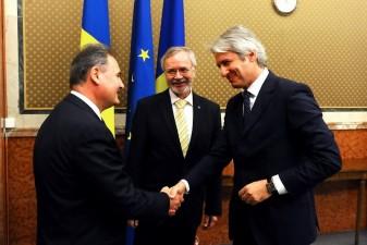 Seful BEI s-a intalnit cu ministrul Fondurilor Europene
