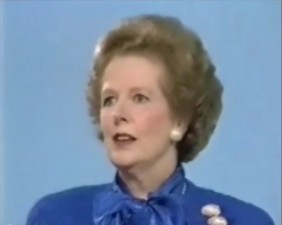 "Margaret Thatcher: ""Nu exista bani publici"""