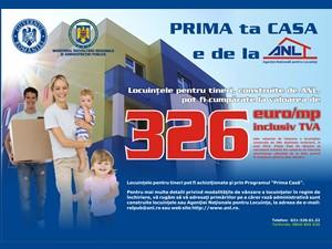Locuintele ANL pot fi cumparate si prin programul Prima Casa