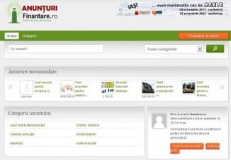 S-a lansat Anunturi.Finantare.ro – versiunea Beta!