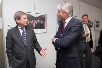 Comisarul Hahn: Viitorul Acord de Parteneriat va sprijini dezvoltarea infrastructurii si a IMM-urilor