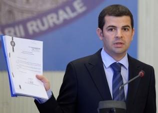 Constantin: Comisia Europeana a decis sa deconteze in avans 70% din valoarea platilor europene directe