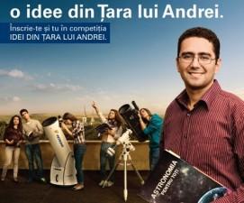 """Editia 2014 a competitiei """"Idei din Tara lui Andrei"""" acorda finantari de 200.000 de euro"""
