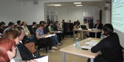 Caravana de informare si instruire a beneficiarilor privati POSCCE din Sud Muntenia
