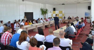 144 de contracte de finantare semnate in cadrul programului Regio, pentru dezvoltarea mediului privat din Sud Muntenia