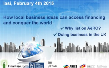 Conferinta Finantare.ro Iasi 2015 – How local business ideas can access financing  and conquer the world