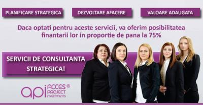 (P) Servicii de consultanta strategica oferite de Acces Project Investments