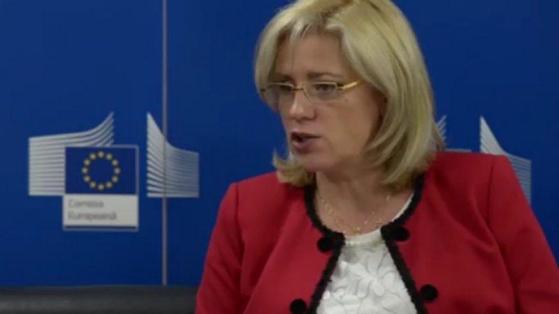 Corina Cretu: Comisia pregateste scrisori de pre-suspendare a fondurilor europene pe 5 domenii