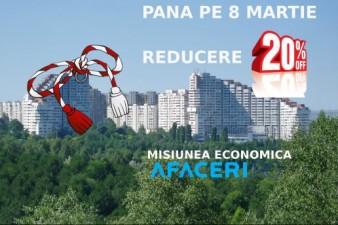 (P) Profita de ultimele trei zile de reduceri special de Martisor oferite de Afaceri.ro!