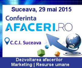 (P) Conferinta Afaceri.ro – Despre afaceri de succes, idei de dezvoltare si inovatie