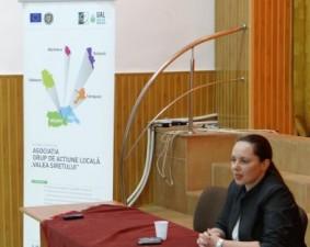 """Asociatia Grup de Actiune Locala """"Valea Siretului"""" si-a prezentat proiectele de succes"""