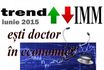 Studiu: Indicele de Incredere al IMMurilor – iunie 2015