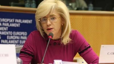 Comisarul european pentru politica regionala, Corina Cretu, viziteaza Romania