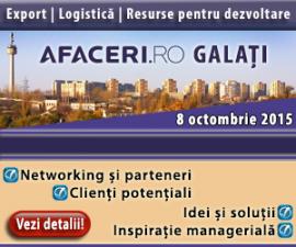(P) Se pregateste un nou eveniment pentru oamenii de afaceri din Sud-Estul tarii: Conferinta Afaceri.ro Galati 2015