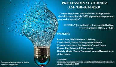 (P) Professional Corner, Constanta, 7 septembrie 2015