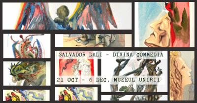 (P) In perioada octombrie – noiembrie Muzeul Unirii Iasi gazduieste Expozitia Salvador Dali – Divina Commedia