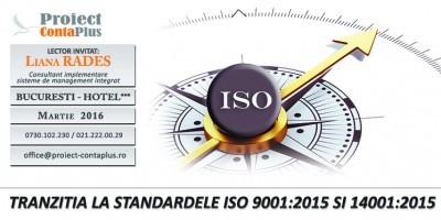 (P) Tranzitia la standardele ISO 9001: 2015 si 14001:2015 – Proiect ContaPlus