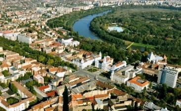 Reprezentanti ai BERD au evaluat proiectul de regenerare urbana in Arad