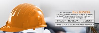 (P) Management de proiect. Investitiile – componenta a proiectului. Managementul calitatii in constructii – Proiect ContaPlus