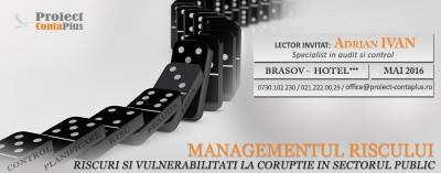 (P) Managementul riscului. Riscuri si vulnerabilitati la coruptie in sectorul public