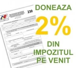 Astazi este ultima zi pentru redirectionarea a 2% din impozitul pe venit
