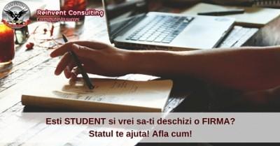 (P) Facilitatile pe care le acorda statul studentilor ce vor sa-si deschida o firma