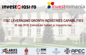 "(P)  Seminar ""IT&C leveraging growth industries capabilities"", Iasi, 20 mai"