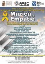 """(P) Concert """"Muzica si Empatie"""", 27 mai, Aula BCU Iasi"""