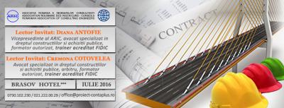 (P) Curs: Adaptarea conditiilor de contract FIDIC la Constrangerile Legislatiei – Proiect ContaPlus