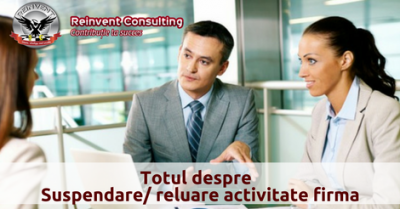 (P) Operatiune ONRC de suspendare si reluare activitate firma