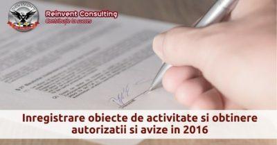 (P) Autorizare activitati obtinere autorizatii si avize functionare firma