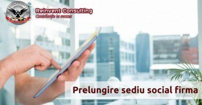 (P) Prelungire sediu social firma pentru a evita inactivitatea fiscala