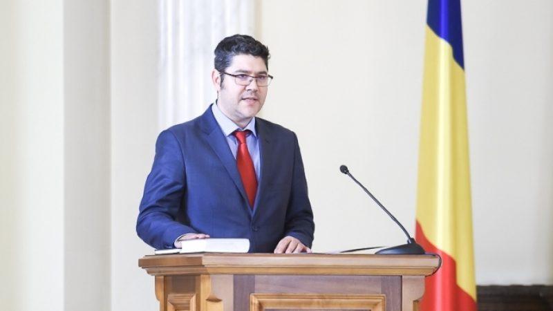 Noul ministru al Fondurilor Europene, Dragos Cristian Dinu, si-a prezentat prioritatile mandatului