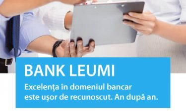 (P) Bank Leumi – Excelenta in domeniul bancar