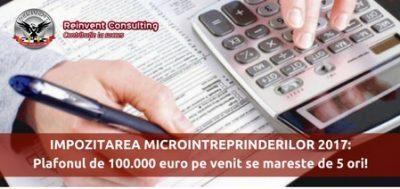 (P) Impozitare microintreprinderi in 2017