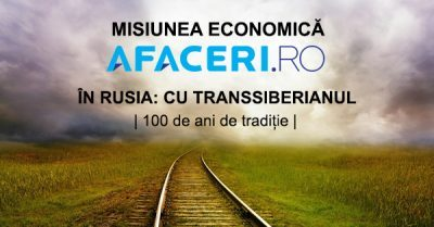 (P) S-a dat startul inscrierilor la prima misiune economica din Romania cu Transsiberianul