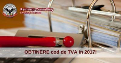 (P) Inregistrare in scop de TVA in 2017