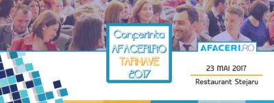 Conferinta Afaceri.ro Tarnave 2017 – oportunitati de dezvoltare si parteneriat pentru antreprenorii din zona Tarnavelor