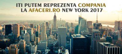 Oportunitate de promovare a antreprenorilor romani interesati de America