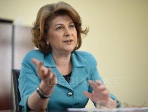Motiunea simpla a Opozitiei impotriva ministrului Rovana Plumb va fi votata marti de Senat
