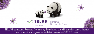 TELUS International Romania Community Board : ultima sesiune de granturi din 2017