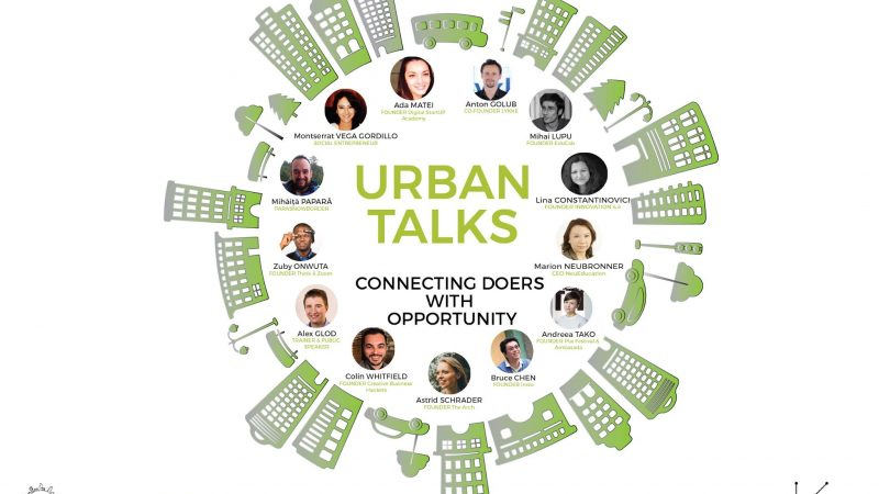 Connecting Doers with Opportunity – Conferinta Internationala Urban Talks & Hackathon pentru Inovare, Timisoara, 6-8 Octombrie