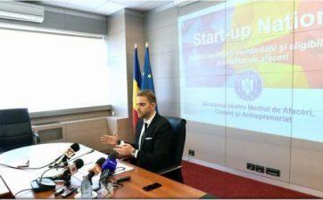 Laufer: Beneficiarii Start-Up Nation care nu au credit-punte trebuie sa astepte rectificarea bugetara pentru demararea afacerii