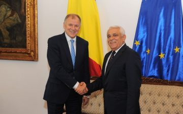 Intalnirea ministrului Agriculturii cu comisarul european responsabil pentru sanatate si siguranta alimentara