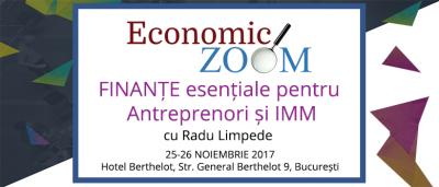 (P) Training si Workshop de Analiza Financiara: prag de rentabilitate, modelare financiara a Planului de Afaceri, rate cheie, Evaluarea Firmei